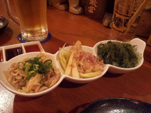 沖縄 三種盛り