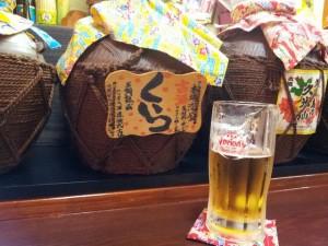 オリオンビールと泡盛