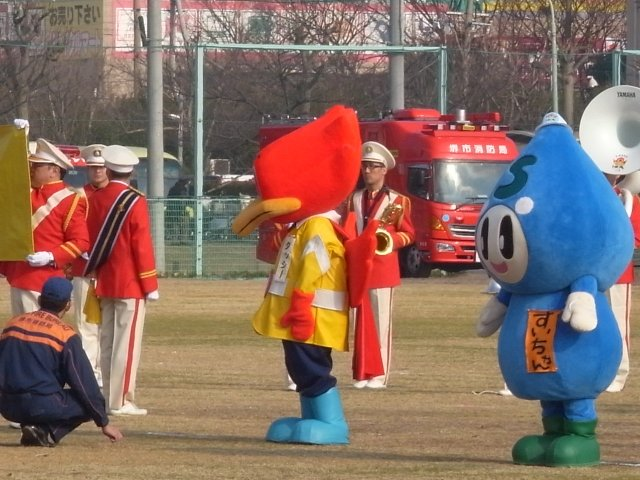 堺市消防局の出初式
