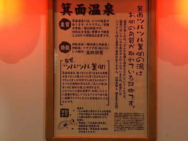 大江戸温泉 箕面温泉スパーガーデン