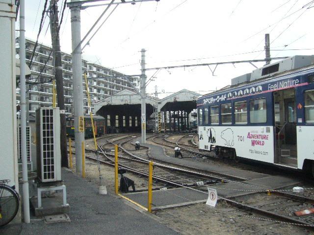 アドベンチャーワールド チンチン電車