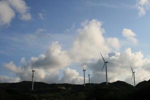 淡路南端 風車