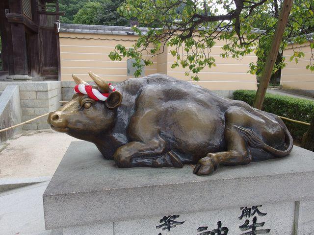 太宰府天満宮の牛