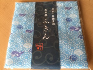 奈良の蚊帳生地「和布華ふきん」