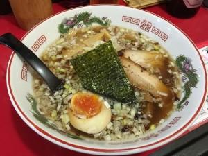 京橋のSaSaLa(ササラ)の醤油ラーメン