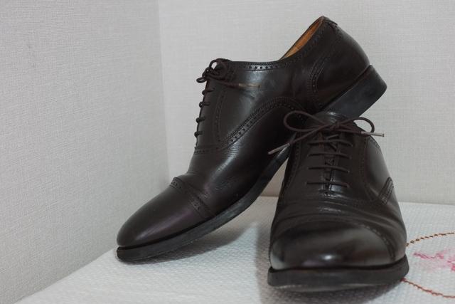 マニアも勧めるスコッチグレインの革靴