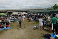 淀川河川公園 西中島エリアでBBQ