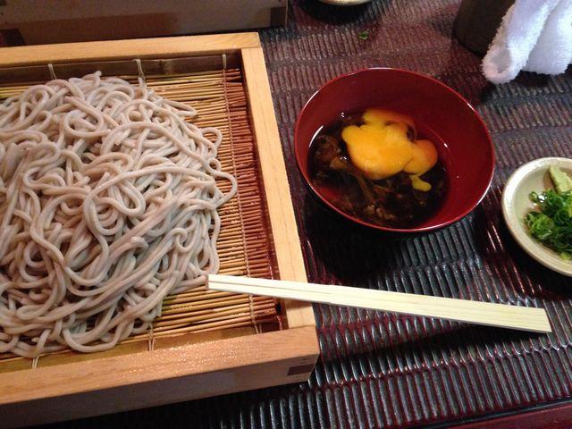 堺の老舗蕎麦屋ちく満(ちくま)