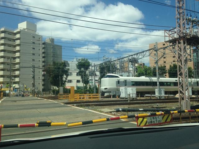 開かずの踏切 JR東淀川駅西口