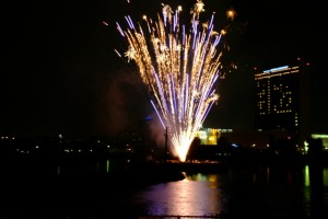 堺大魚夜市の花火大会