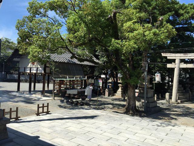 岸和田城の鎮守さん 岸城神社