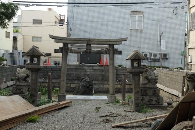 堺のパワースポット 住吉大社宿院頓宮の飯匙堀(いいがいぼり)