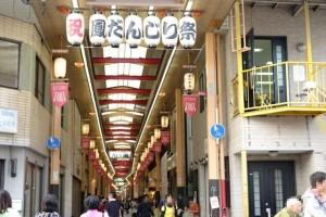 【堺市・鳳】商店街を通り抜けるだんじり