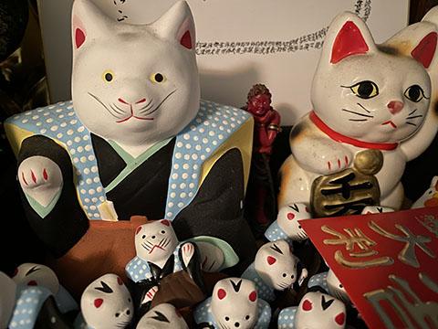 初辰さんの招き猫