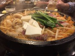 JR天満 武福の韓国風すき焼き