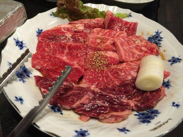 武福の焼き肉
