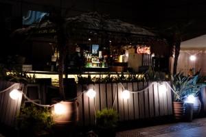 湊町リバープレイスからの道頓堀の夜景