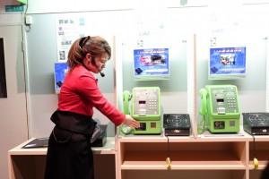 大阪市立阿倍野防災センターで地震体験