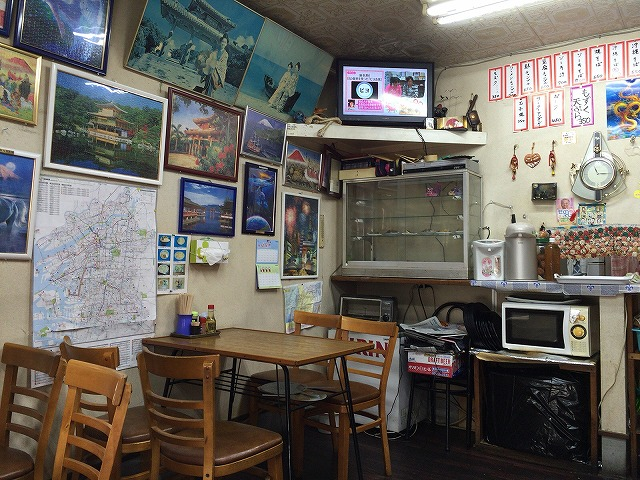 大正 マルトミ食堂で沖縄そば