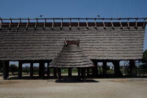 池上曽根遺跡で弥生時代体験