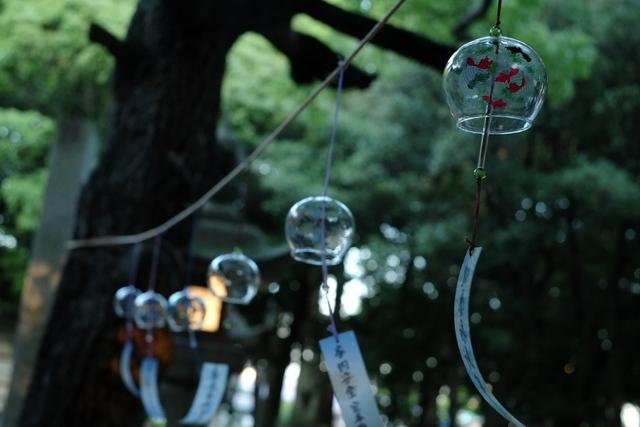 鈴の宮 蜂田神社の風鈴祭り