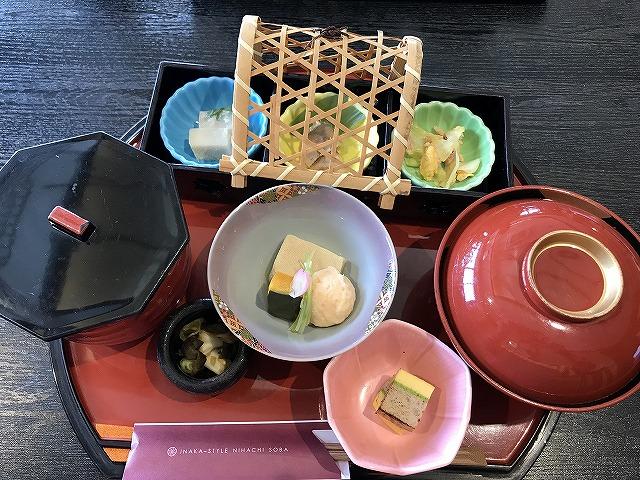 小松家 ざるそばとしじみご飯のセット