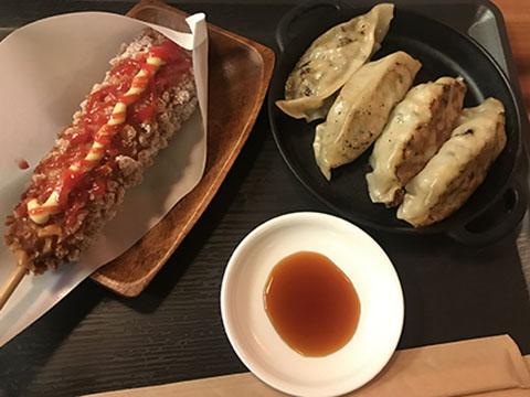 韓国餃子とハットク
